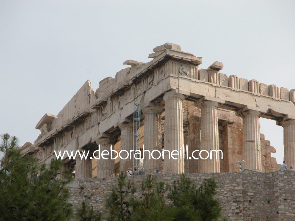 Greece Parthenon Ruins of Athens, 16x20 print