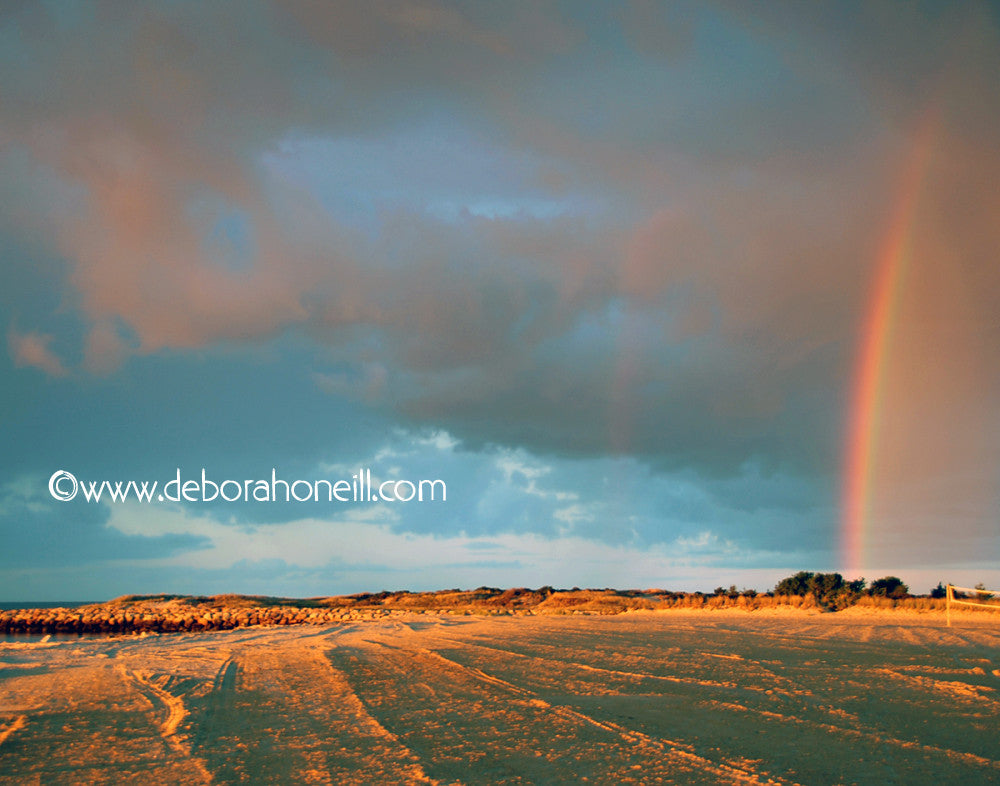 Ocean, Cape Cod, Beach Rainbow, South Yarmouth, 16x20 print