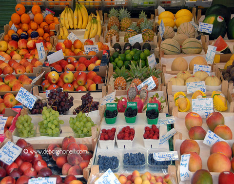Germany, Juicy Fruit, Virtualienmarkt, Munich, 16x20 print