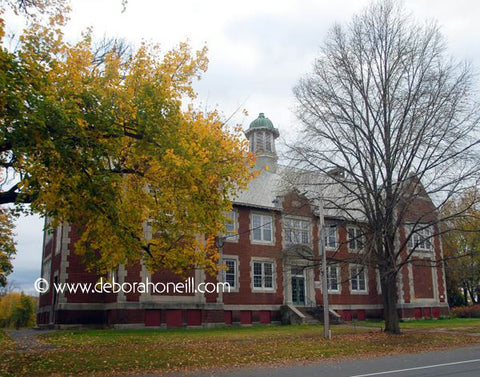 Northampton MA Area, Hatfield Jr. High, Hatfield, MA,16x20 print