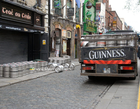 Ireland, Guinness Morning After, Dublin, 16x20 print