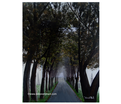 Photo Painting Print, The Final Path, 16x20 PRINT