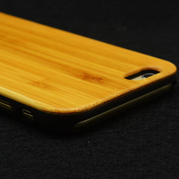 "Top Quality Hard Protector Cover Genuine Rosewood / Cherry Wood Wooden Phone Case For iPhone 6/ 4.7""  6 Plus/ 5.5"""