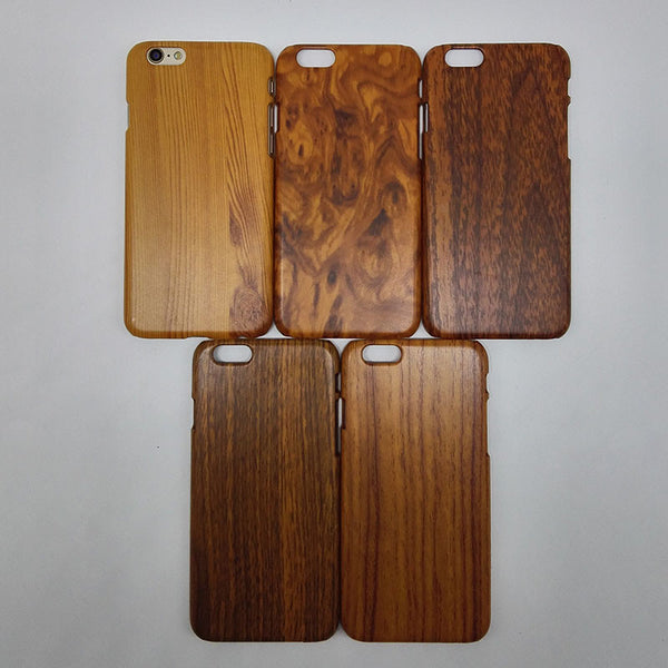 Luxury Hard Case for Apple iphone 6, iphone 4.7 Wood Grain Protective Fashion Back Wooden Cover