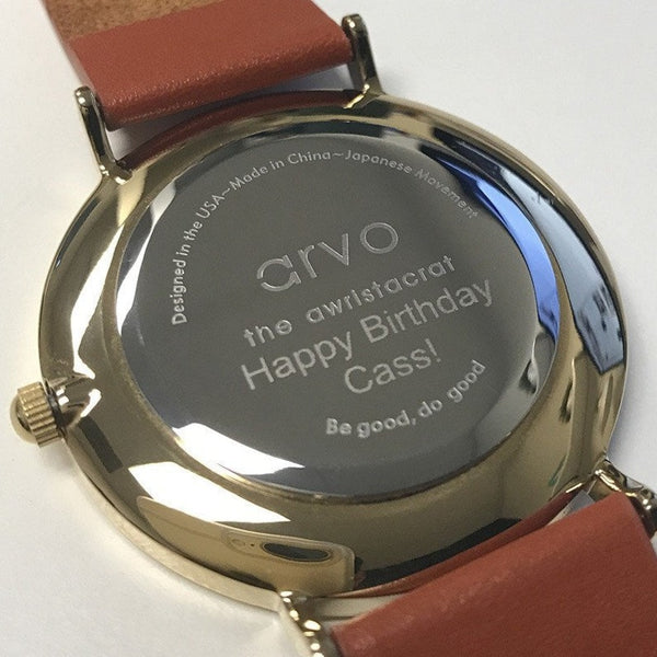 Arvo Custom Engraving