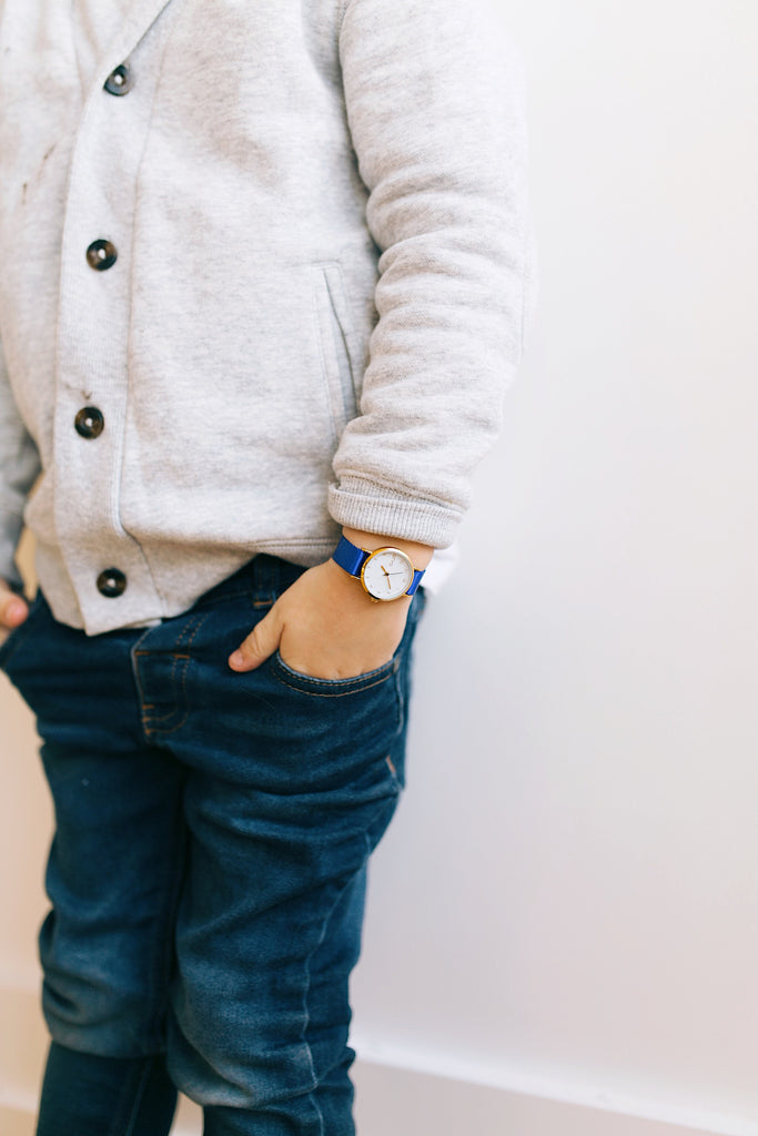 The Tiny Time (Kids) Royal Blue (60% Off!)