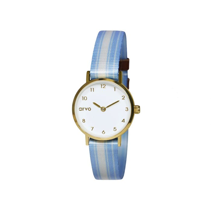 Tiny Time Deluxe (Women) Blue Stripes (60% Off!)