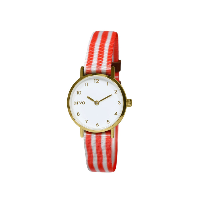 Tiny Time Deluxe (Women) Red Stripes (60% Off!)