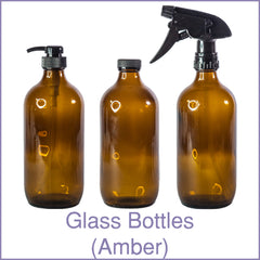 Glass Bottles (Amber)
