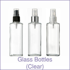 Glass Bottles (Clear)