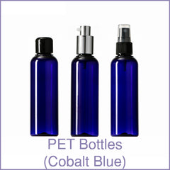 PET Bottles (Cobalt Blue)