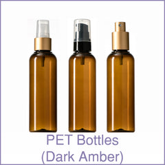 PET Bottles (Dark Amber)