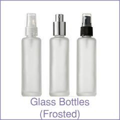 Glass Bottles (Frosted)