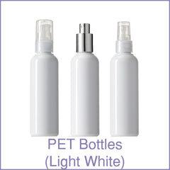 PET Bottles (Light White)
