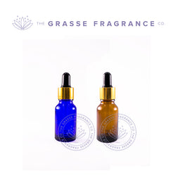 0015ml Dropper 4, Amber & Cobalt Blue