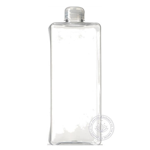 1000ml Square PET, Clear
