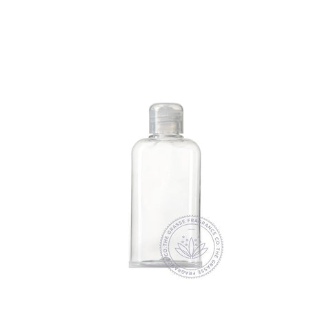 0100ml Oval PET, Clear