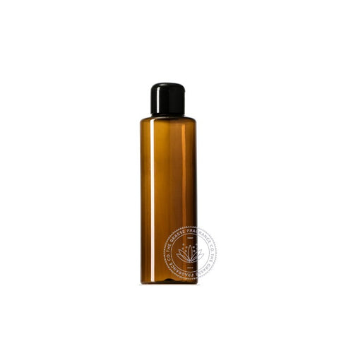 0120ml Tubular PET, Dark Amber