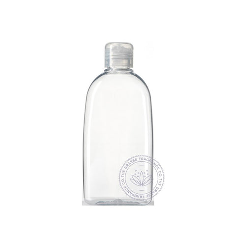 0200ml Oval PET, Clear