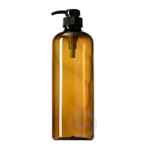 0500ml Boston PET, Dark Amber