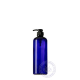 0500ml Boston PET, Cobalt Blue