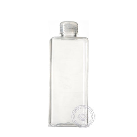 0500ml Square PET, Clear