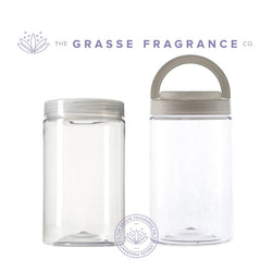 1000ml Round Jar with Liner, Clear