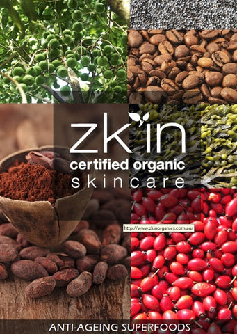 zk'in anti-ageing Superfoods e-book