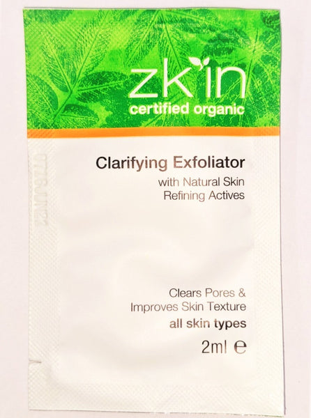 Sachet Clarifying Exfoliator (all skin types)