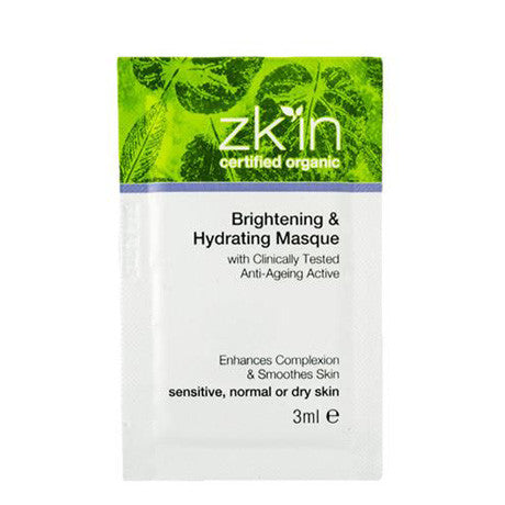 Brightening & Hydrating Masque Sample Sachet 3ml (all skin types)