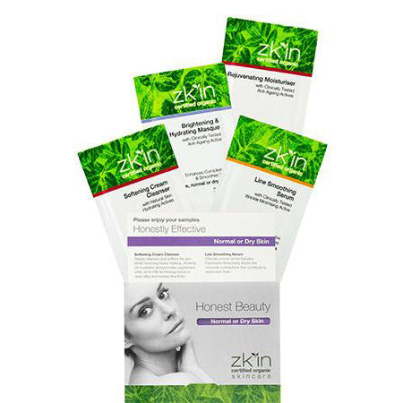 Sample Pack Normal or Dry Skin Type
