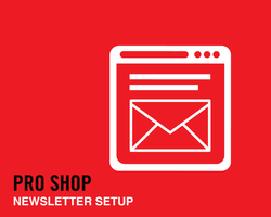 Newsletter Setup Custom Template Design