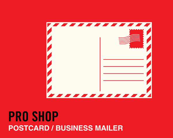 Pack a Punch with a Postcard - Compact and Double-Sided for Mail or Hand Delivery