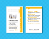 Rodan and Fields AU Regimens Card Set - Reverse