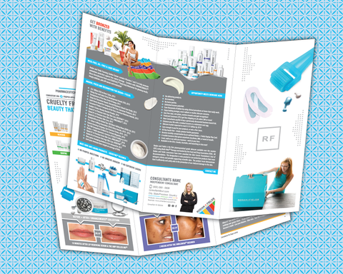 Rodan Fields Brochure with Business Launch Kit Cover