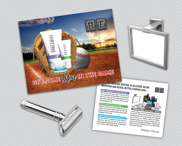 Rodan Fields Get Some Skin in The Game Mens Shave