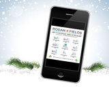 Rodan Fields Holiday Order Form with Social Media USA