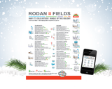 Rodan + Fields Seasonal Holiday Gift Guide Order From Sheet Checklist in PC - for USA 2016