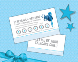 Rodan Fields Loyalty Contact Card