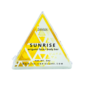 Sunrise Origami Face + Body Bar