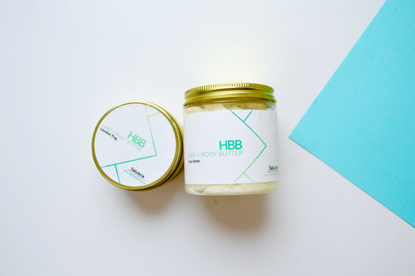 Lemongrass Hair + Body Butter - Salubria