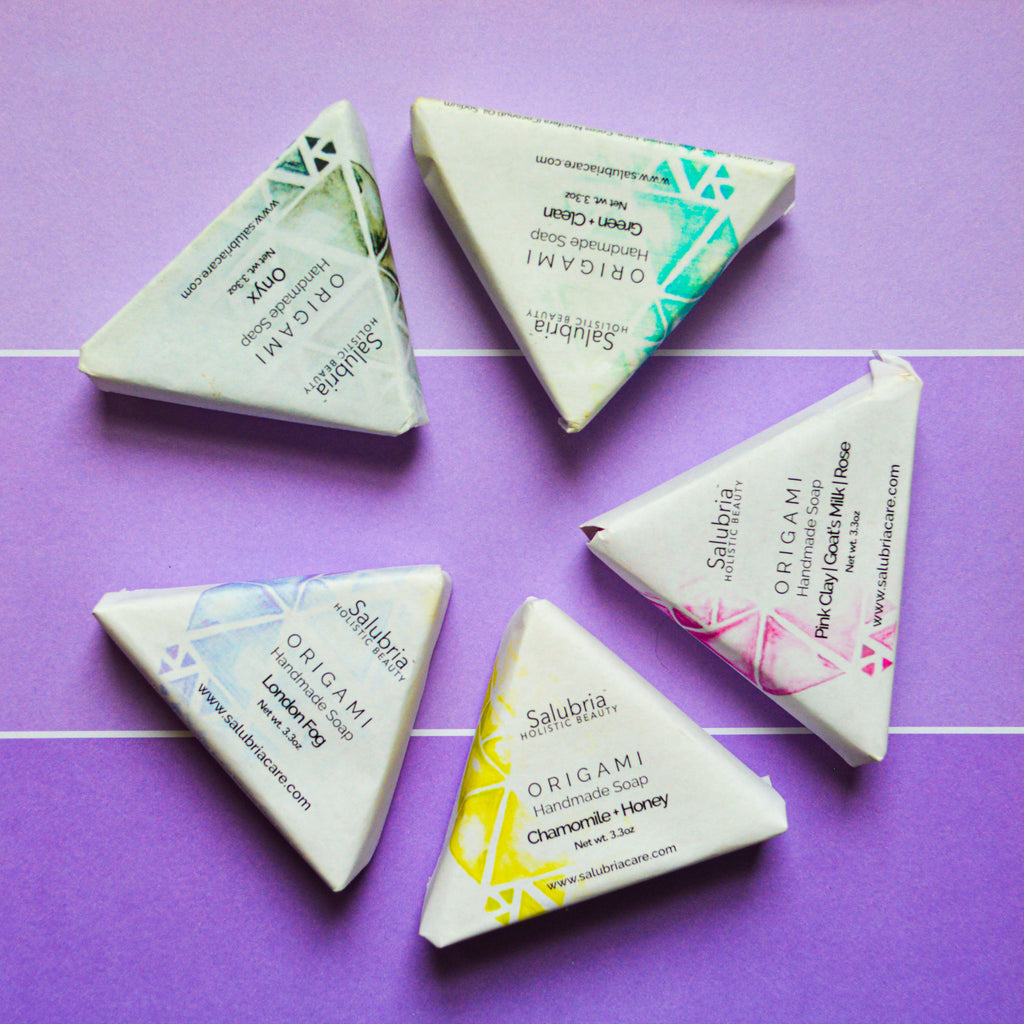 Salubria Holistic Beauty ™ Origami Soap