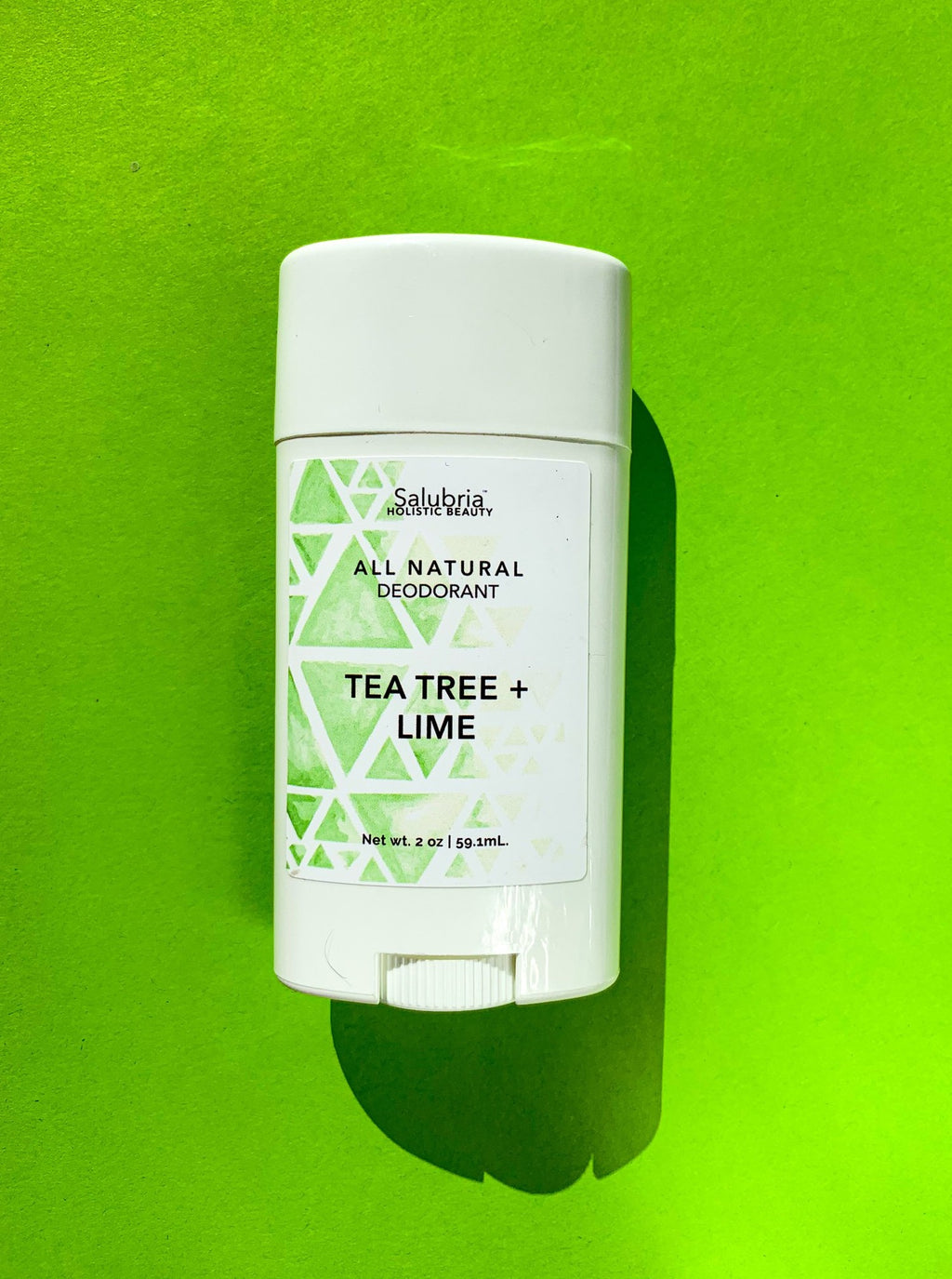 Tea Tree + Lime Deodorant - Salubria