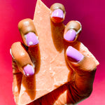 Pink Clay | Goats Milk |  Rose  Origami Face + Body Bar