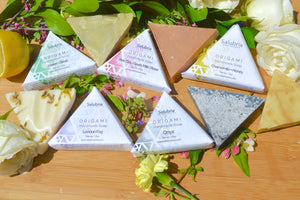 Pink Clay | Goats Milk |  Rose Origami Soap - Salubria