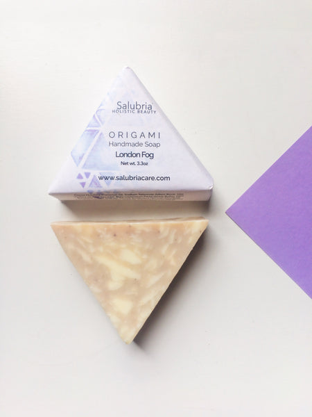 London Fog Origami Soap - Salubria