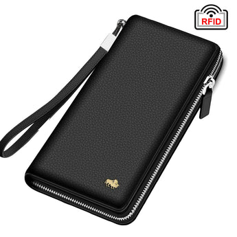 Zipper Male Long Wallet N8195