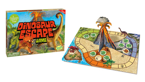 Peaceable Kingdom Dinosaur Escape Board Game