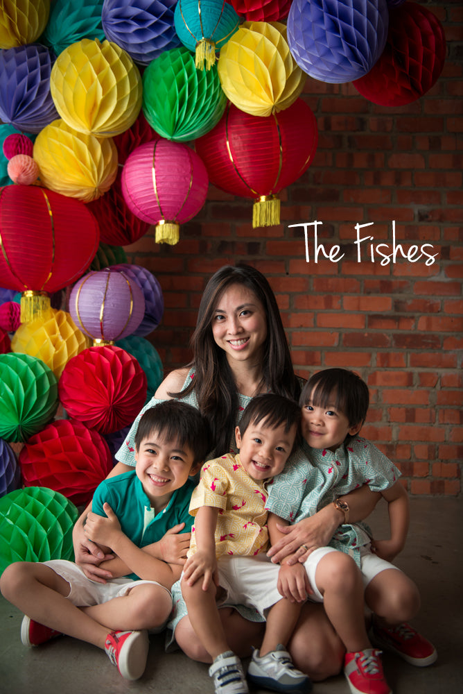 The Fishes twinning set