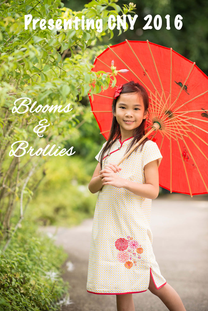 Presenting Blooms and Brollies